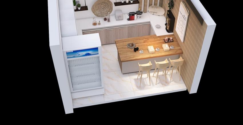 cofe 3 Interior Design Render