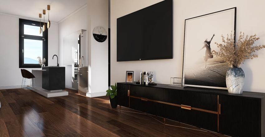 Spain Altea Interior Design Render
