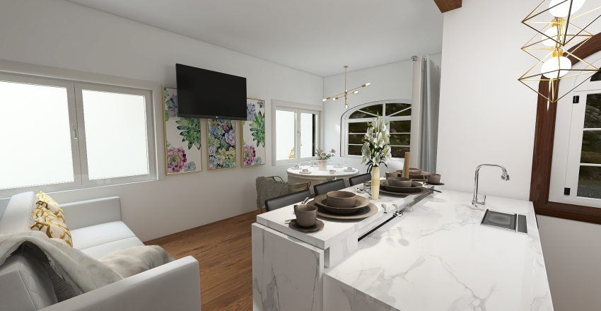 COM DESPENSA Interior Design Render