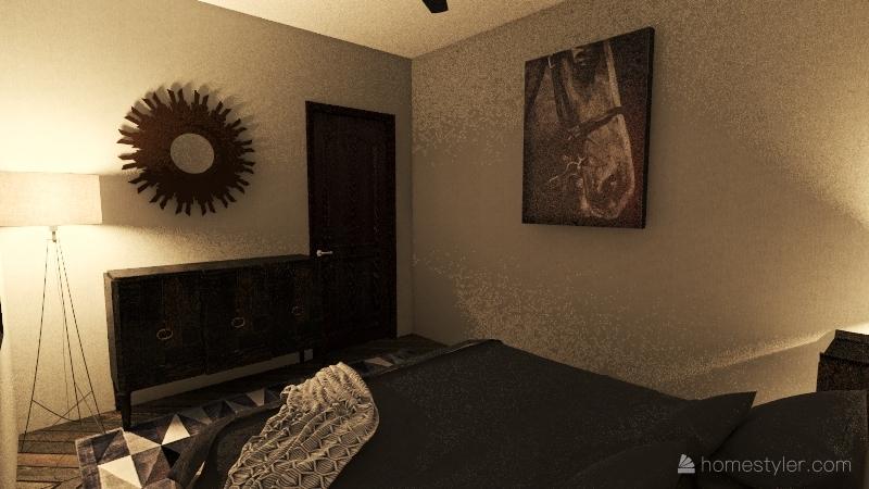 Rambler with rental Interior Design Render