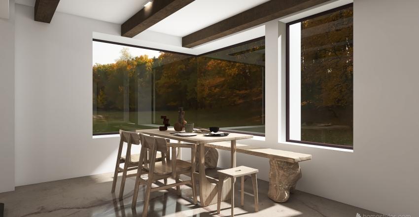 WABI SABI: Small home Interior Design Render