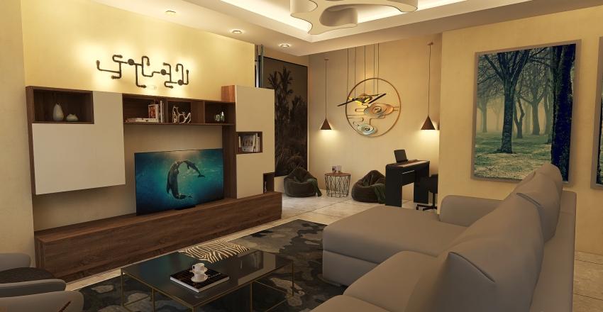 new-unit Interior Design Render