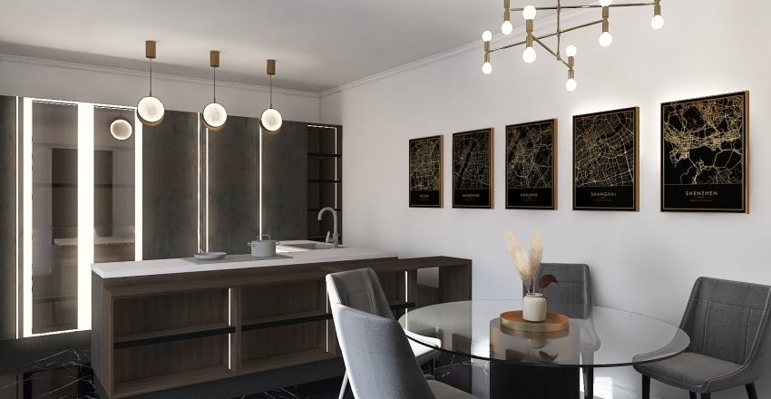 Room N6 Interior Design Render