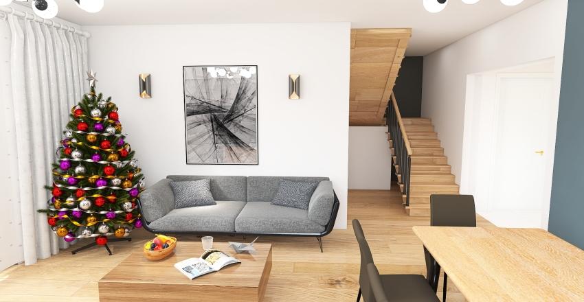 laskowska18_parter_lamele Interior Design Render