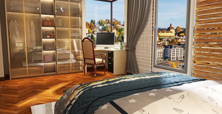 Meu Cantinho Aconchegante/ My cozy corner Interior Design Render