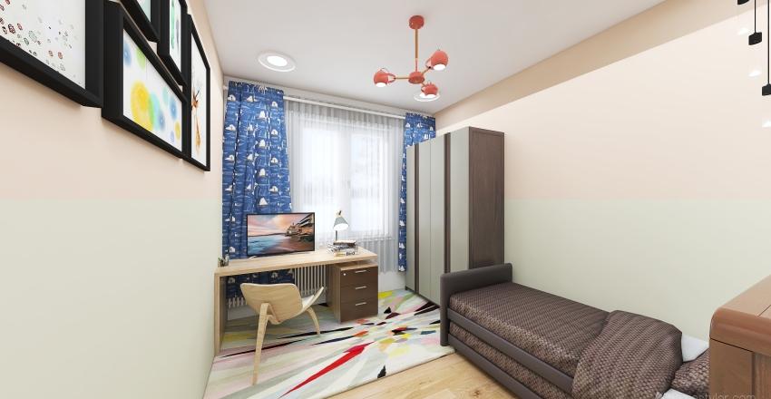 Fillova, Krč Interior Design Render