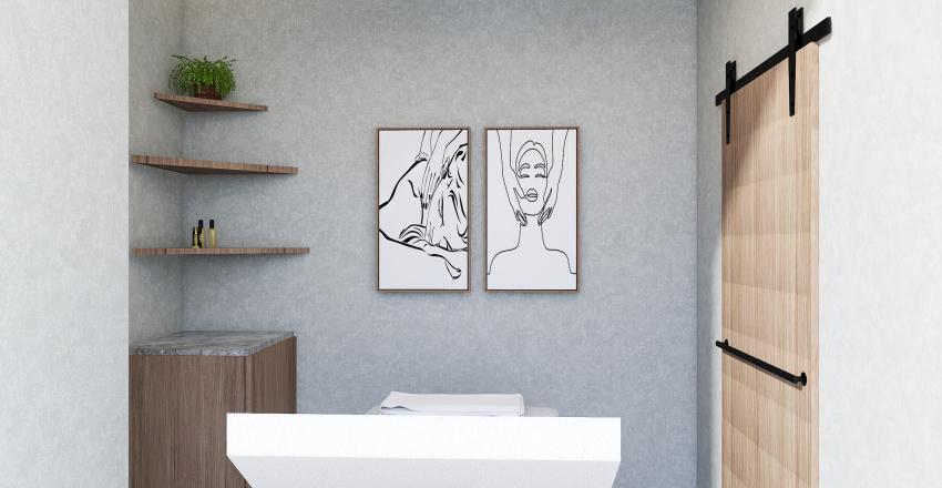 Waxing Room Interior Design Render