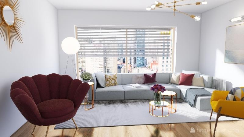 Mini living room  Interior Design Render