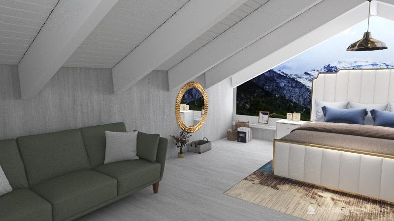 bunker8 Interior Design Render