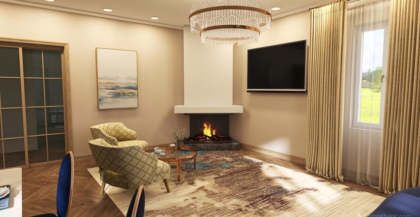 1 этаж Interior Design Render