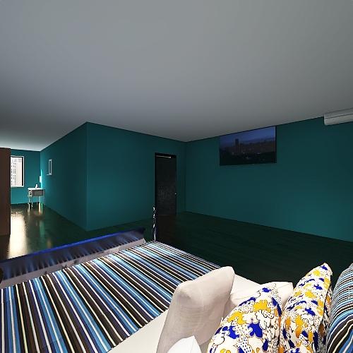 Zacchetti_Turano_Ghidoni Interior Design Render