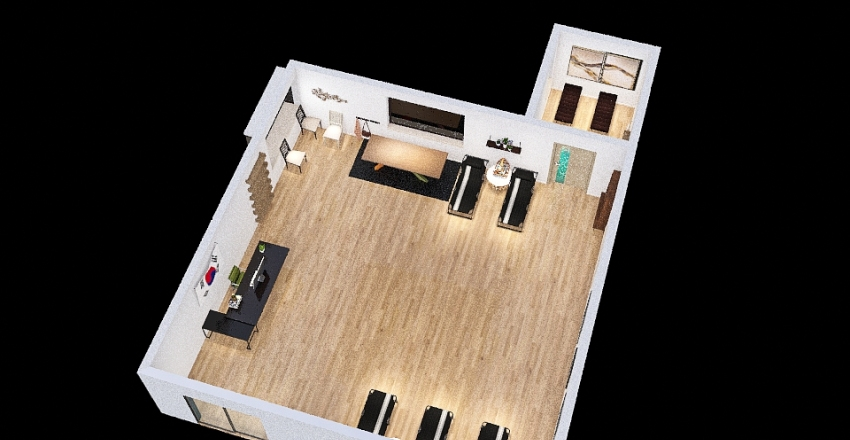 SPA DESIGN Interior Design Render