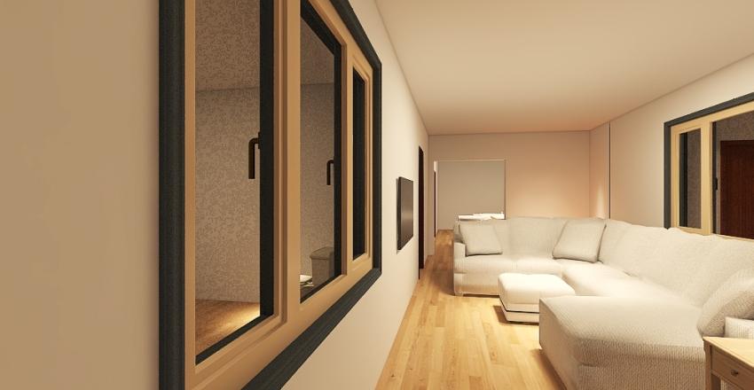Manny's House. Interior Design Render