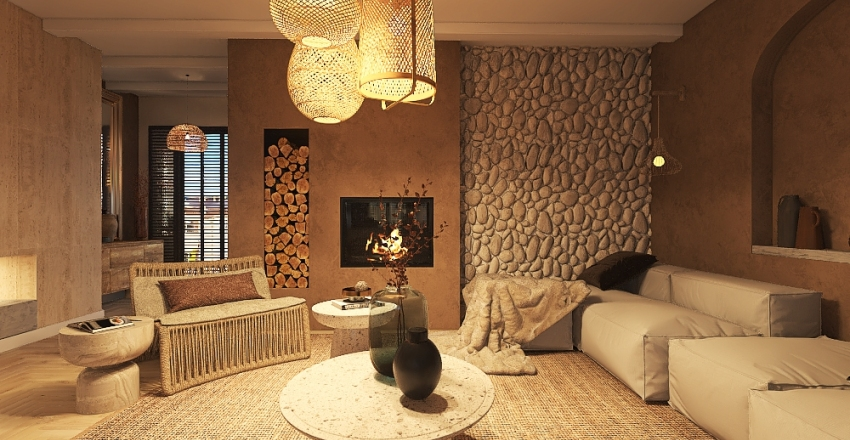 Reforma de apartmento Interior Design Render