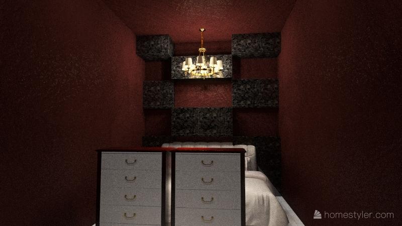 billionaire house Interior Design Render