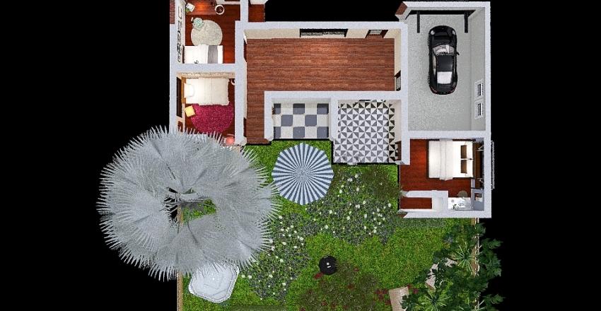 Floor Plan Assignment 1 Interior Design Render