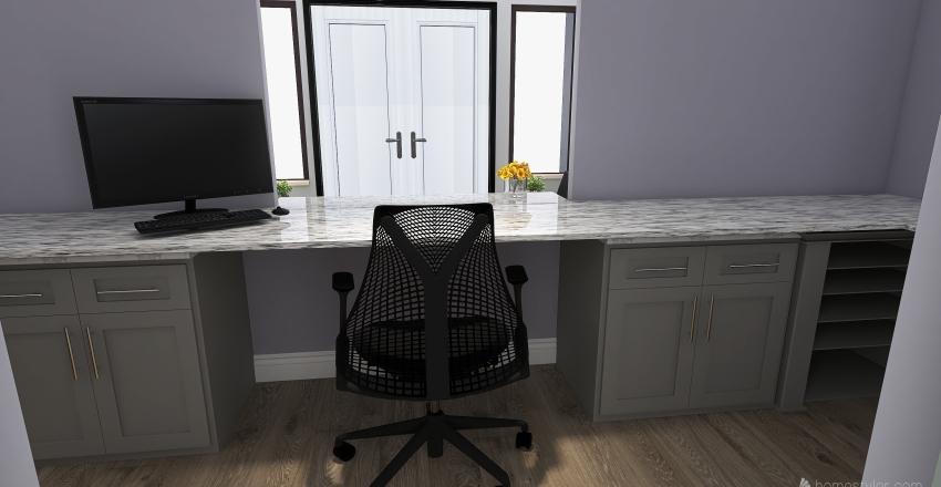 Building 35 Interior Design Render