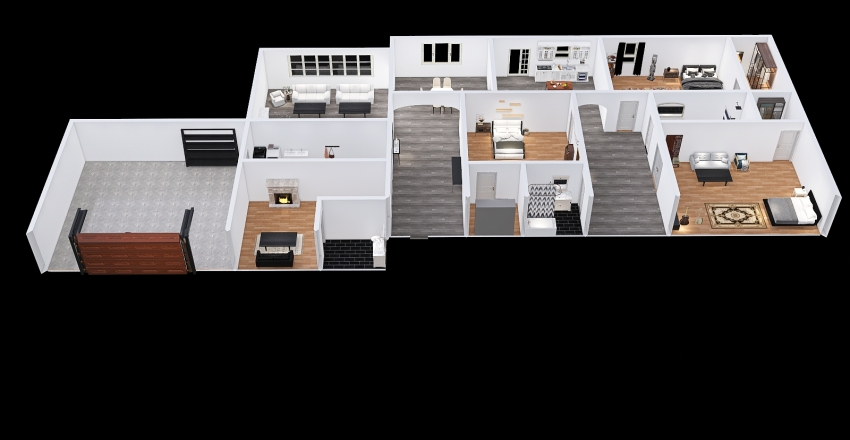 Thomas Owens Dream Home Interior Design Render