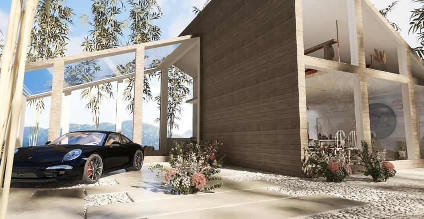 SKYLIGHTS IN THE FOREST Interior Design Render