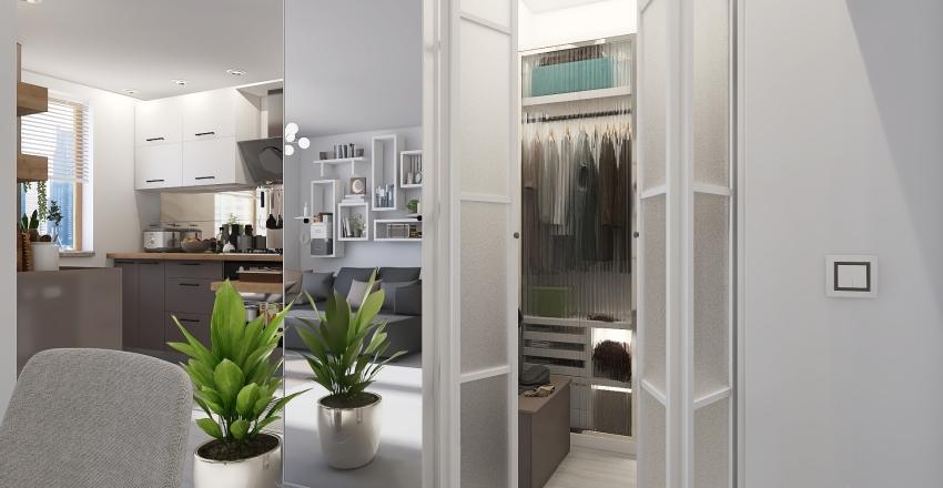 Casa Cavalieri Interior Design Render