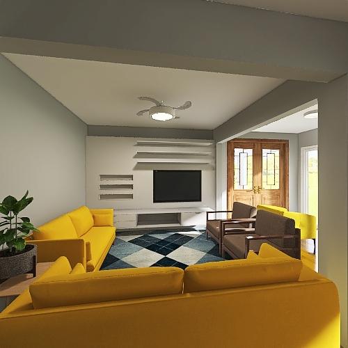 PISO INFERIOR Interior Design Render