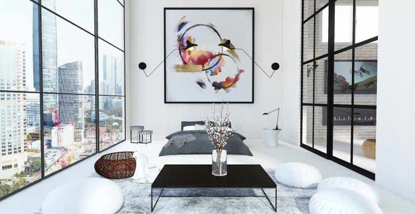 v2_Modern Bedroom Interior Design Render