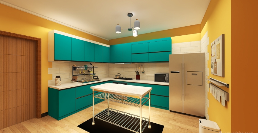 apartamento perqueno Interior Design Render