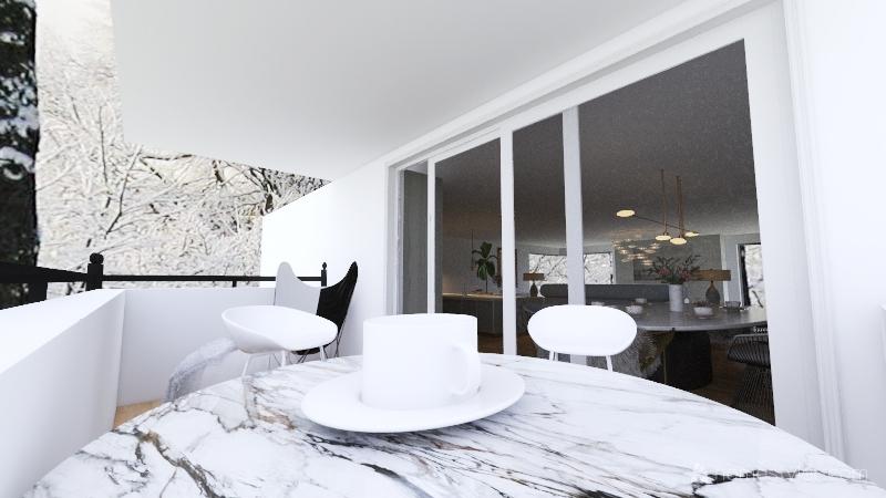 winter passed Interior Design Render