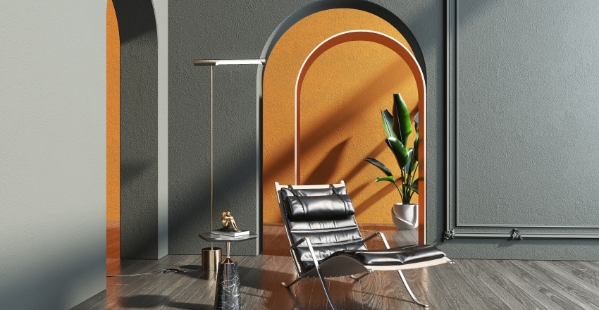Classic Chair Model Collection Interior Design Render