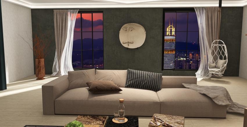 SALON Interior Design Render
