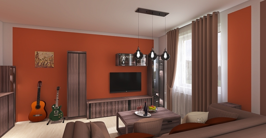 finální verze Interior Design Render