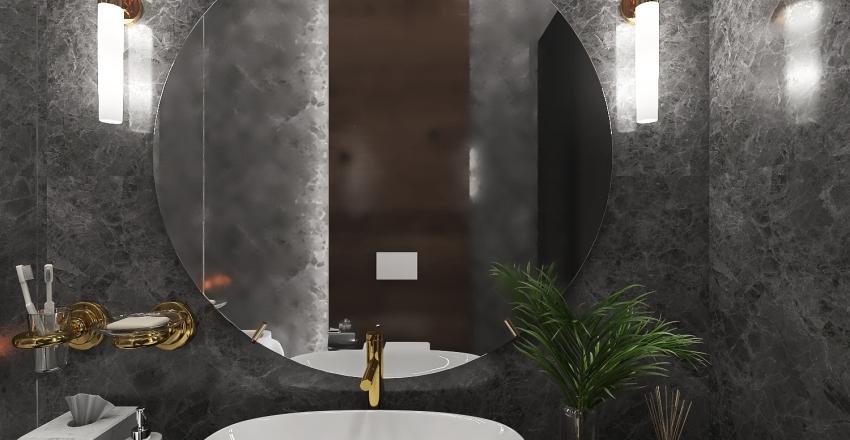 Oceanfront Apartment IV Interior Design Render