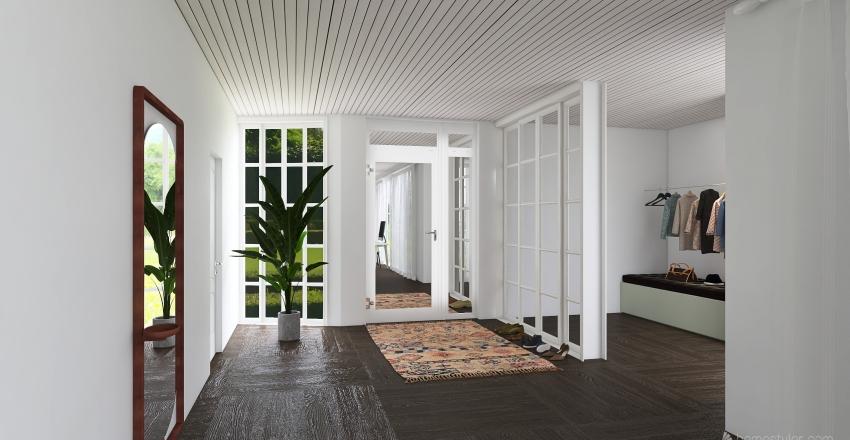 moderne farverigt Interior Design Render