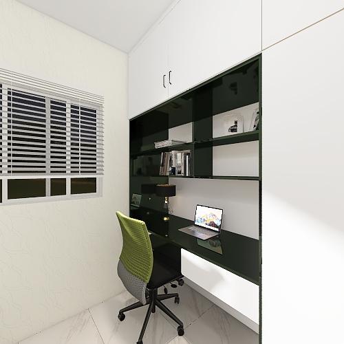villa Quadrifoglio Interior Design Render