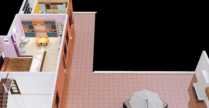 infissi_chiari_ma_muri attuali_prove Interior Design Render