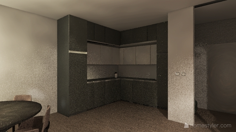 v2_57m kuchnia Interior Design Render