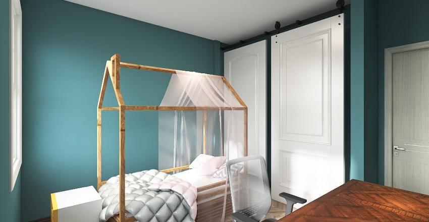 Remodel bedroom Interior Design Render