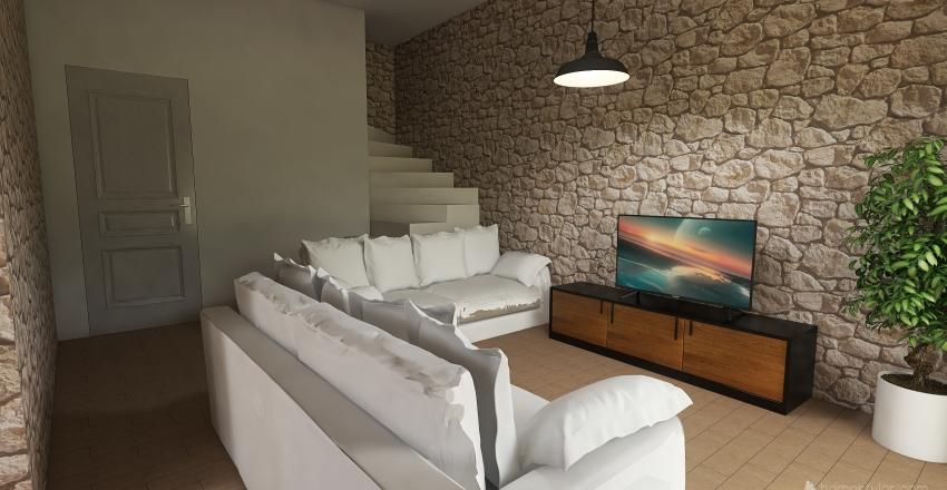 15_PIANO SEMINTERRATO Interior Design Render