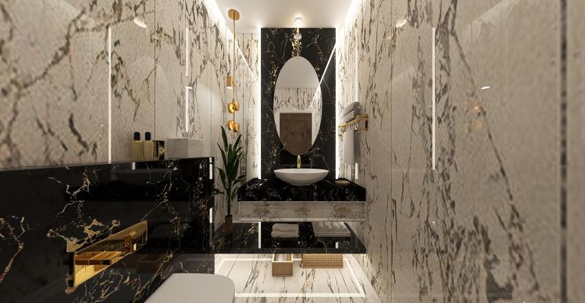 guest bathroom Interior Design Render
