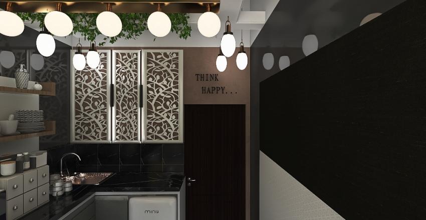 rami coffee L SHAPE Interior Design Render