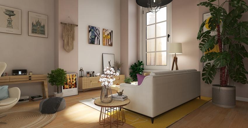 Loft in París Interior Design Render