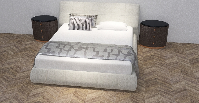 bedroomm Interior Design Render