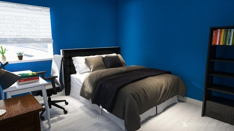 Sid's Room Interior Design Render