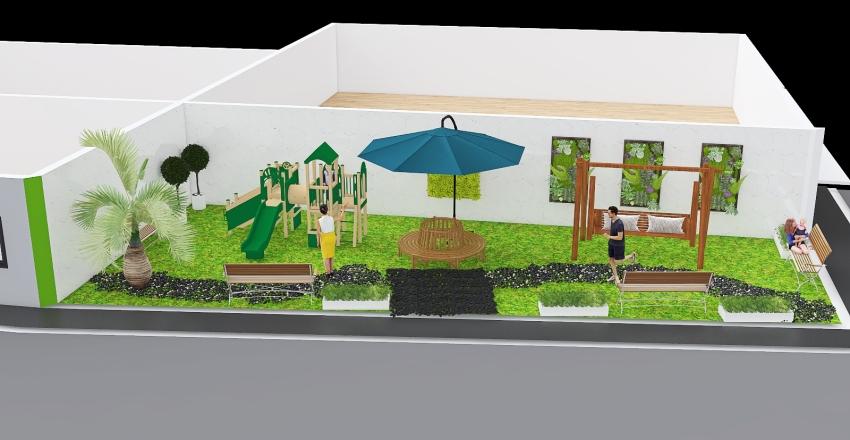parque de por mi casa  Interior Design Render