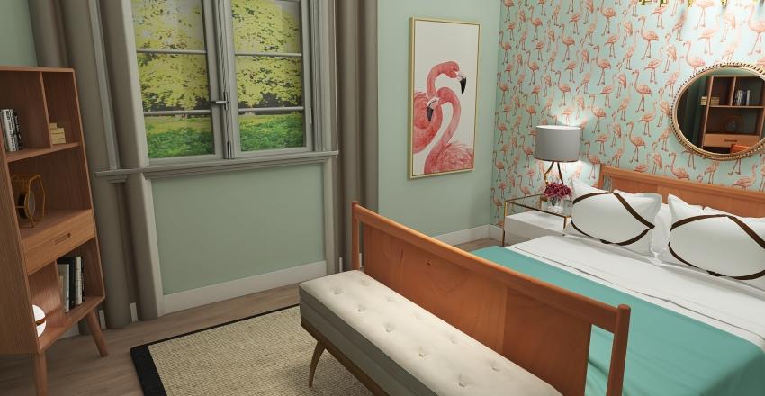 v2_Costal bedroom Interior Design Render