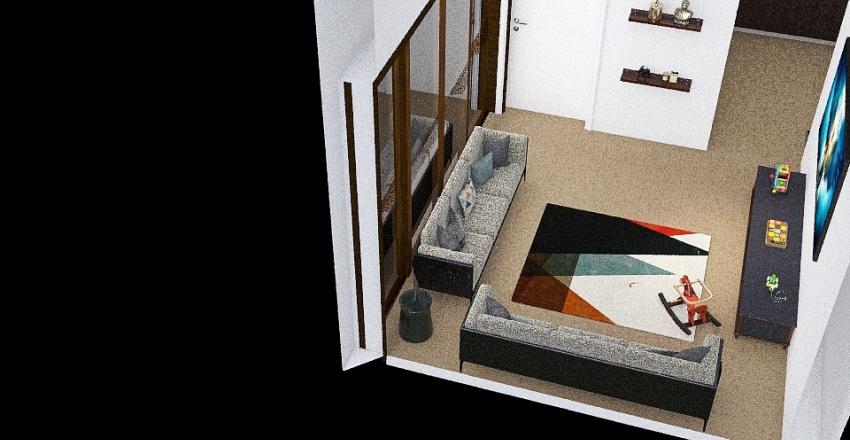 Client #4 Tiny Home Interior Design Render