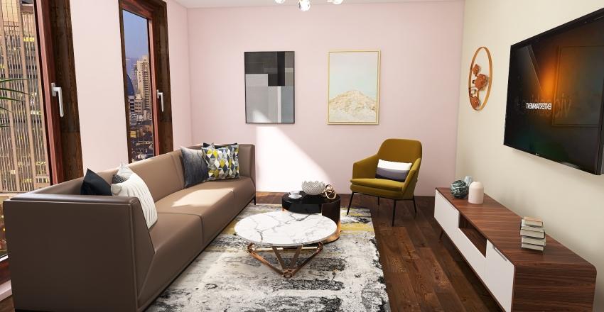 Cozy apartament Interior Design Render