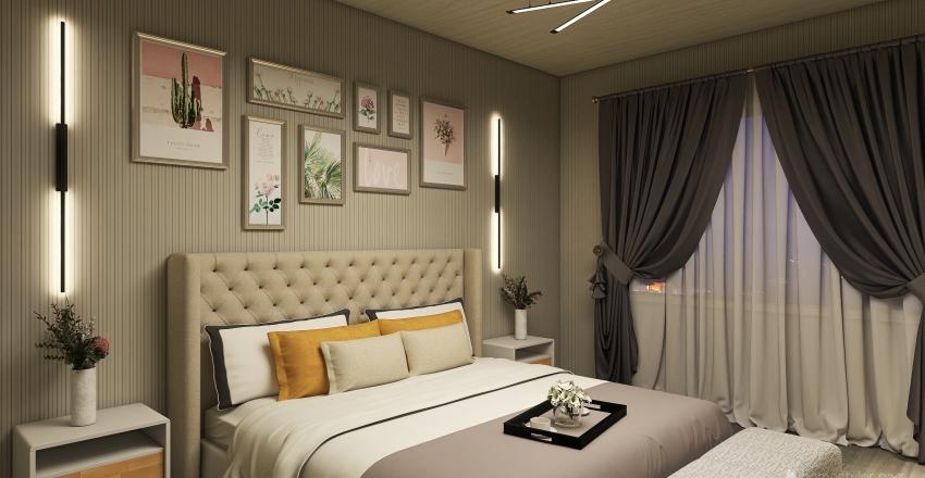 reception room Interior Design Render