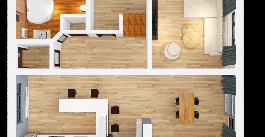 dom arek 2 Interior Design Render
