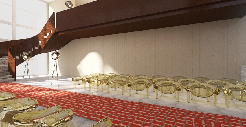 DESFILE + BACKSTAGE Interior Design Render